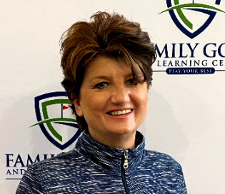 Sabrina Tate, teaching professional at Family Golf & Learning Center in St. Louis