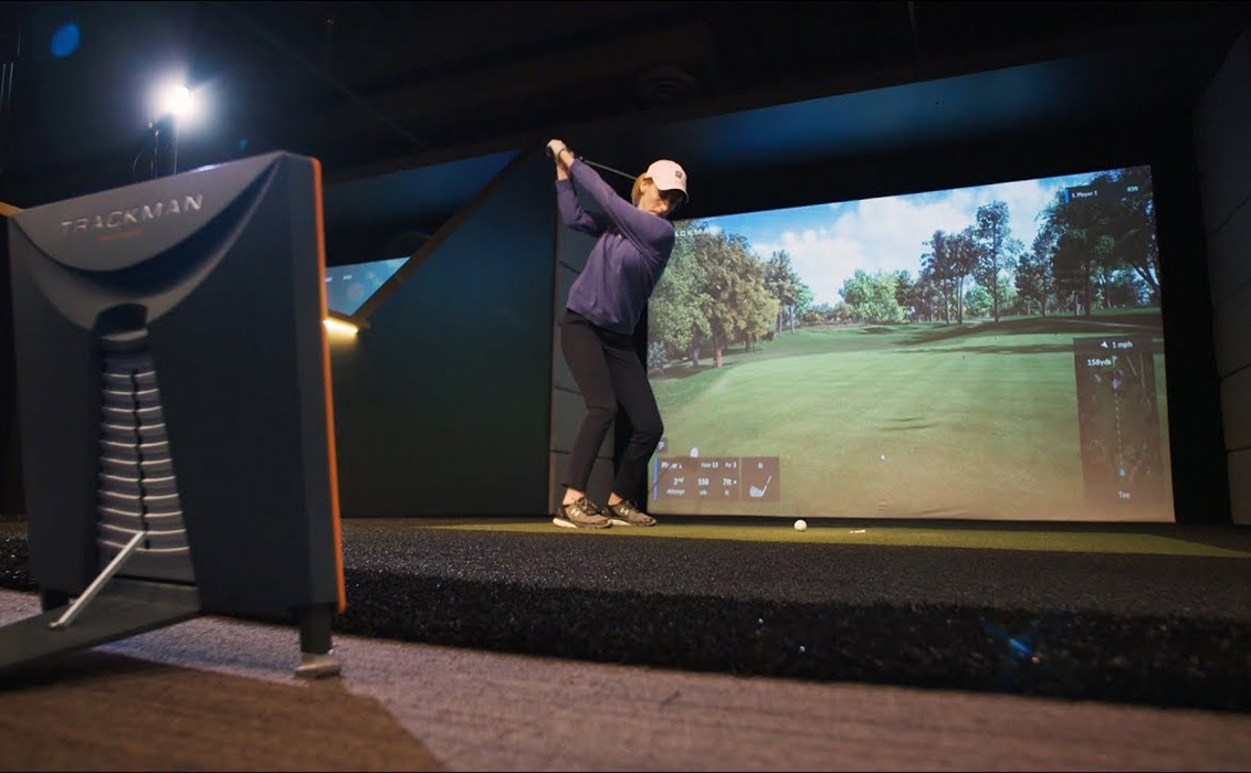 The new Trackman simulator
