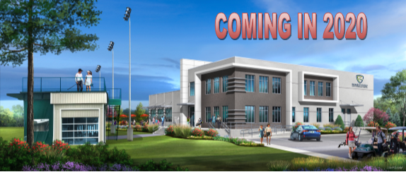 New clubhouse coming summer 2020!